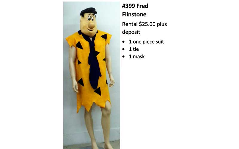 399 Fred Flintstone
