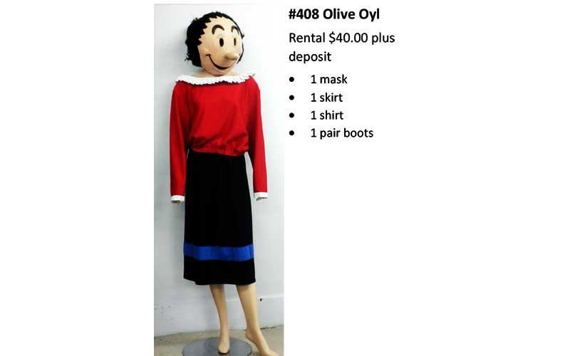 408 Olive Oyl