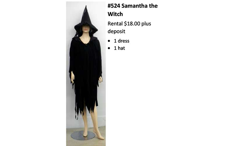 524 Samantha the Witch