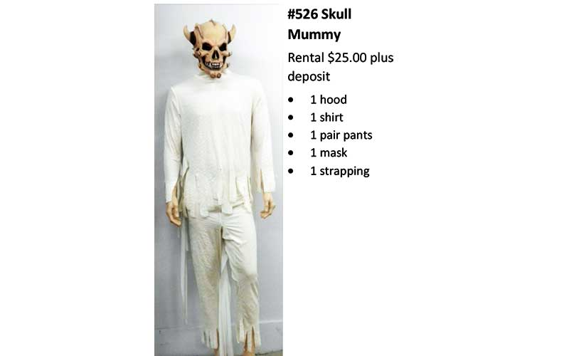 526 Skull Mummy