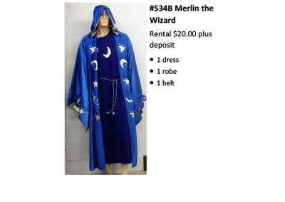 534B Merlin the Wizard