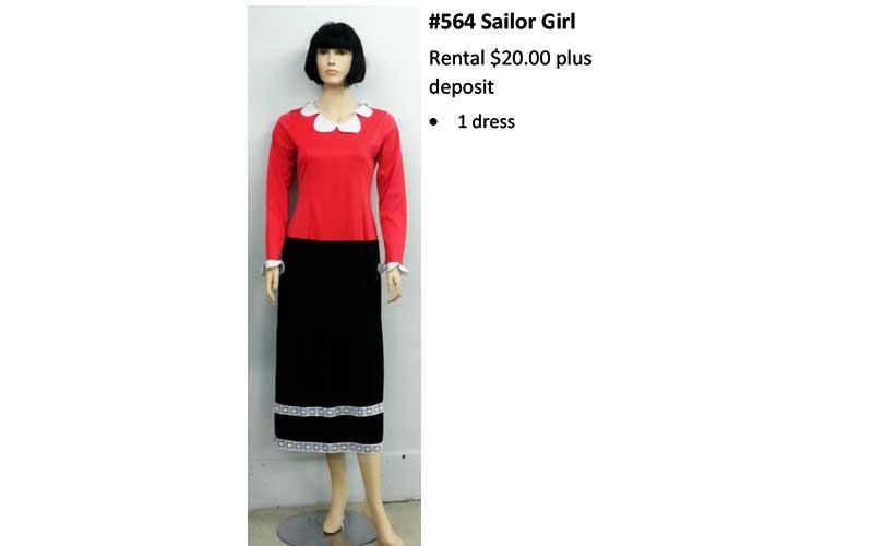 564 Sailor Girl