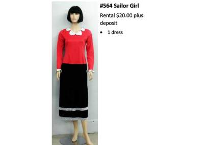 564 Sailor Girl