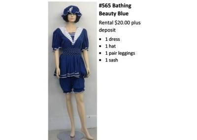 565 Bathing Beauty Blue