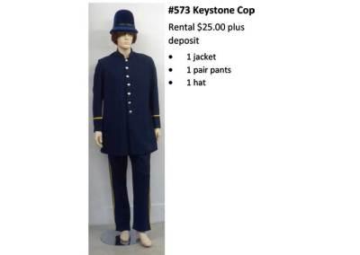 5793 Keystone Cop