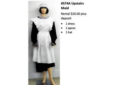 574A Upstairs Maid