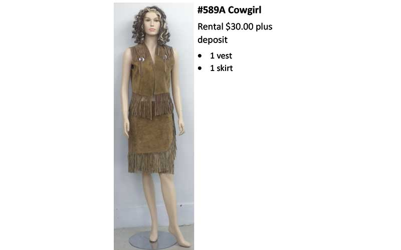 589A Cowgirl