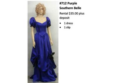712 Purple Southern Belle