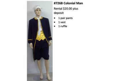 726B Colonial Man