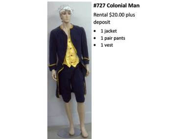 727 Colonial Man