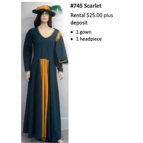 745 Scarlett