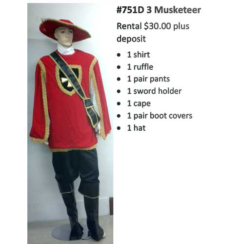 751D 3 Musketeer