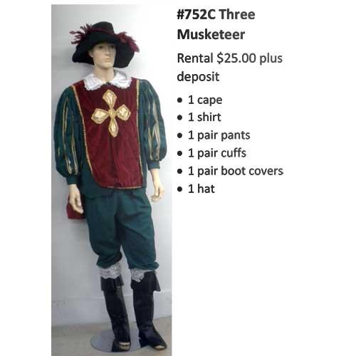 752C Three Musketeer