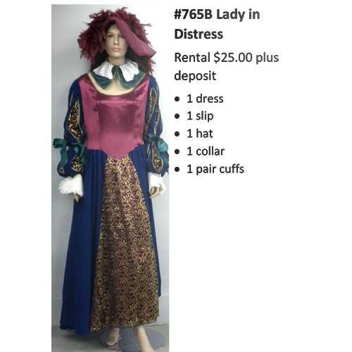 765B Lady in Distress