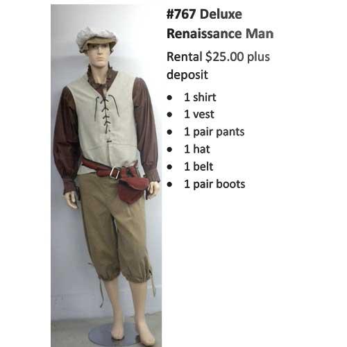 767 Deluxe Renaissance Man