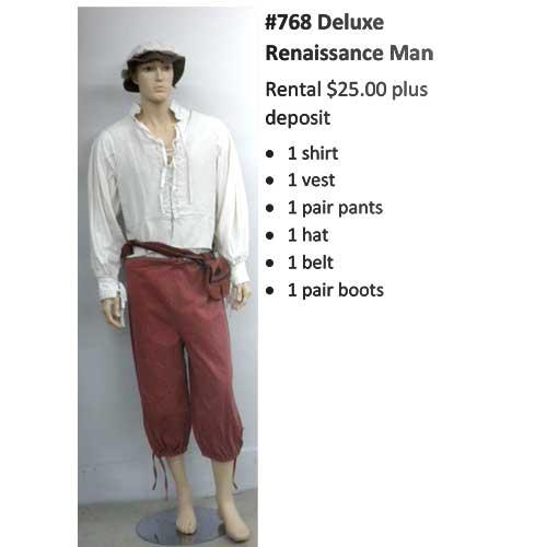 768 Deluxe Renaissance Man