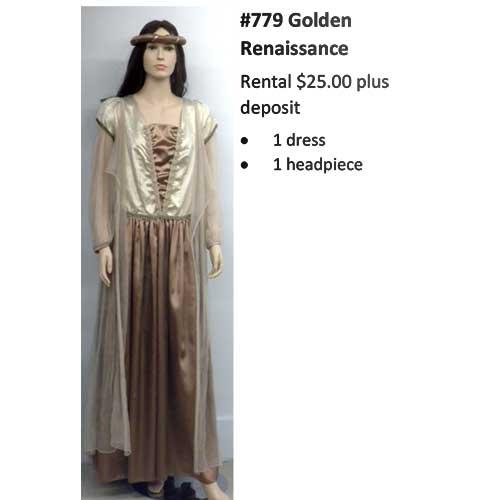 779 Golden Renaissance