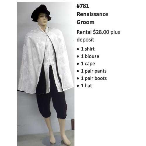 781 Renaissance Groom