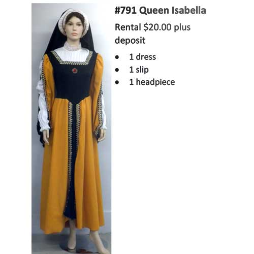 791 Queen Isabella