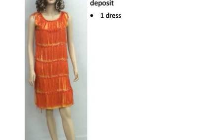 813 Orange Flapper