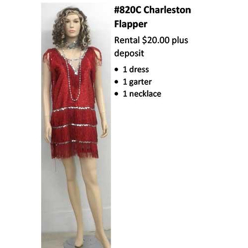 820C Charleston Flapper