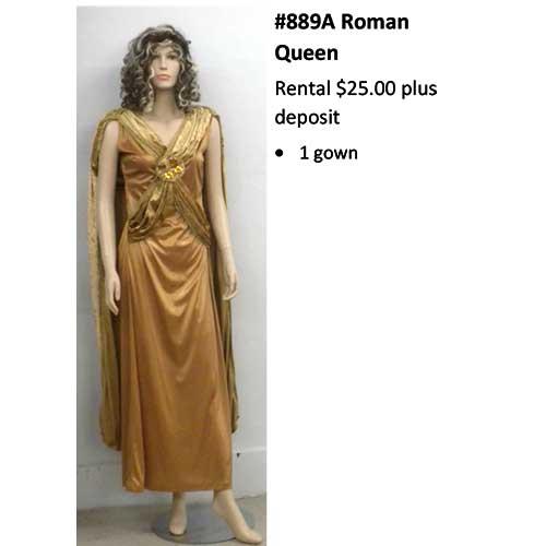 889 Roman Queen