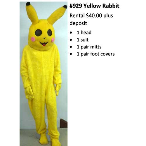 929 Yellow Rabbit