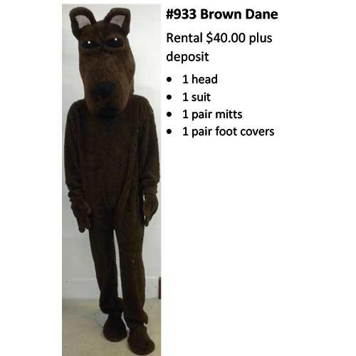 933 Brown Dane