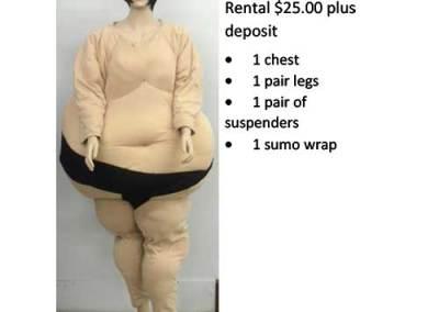 951A Sumo Wrestler