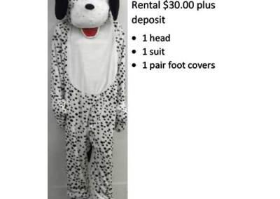 955 Dalmatian Mascot