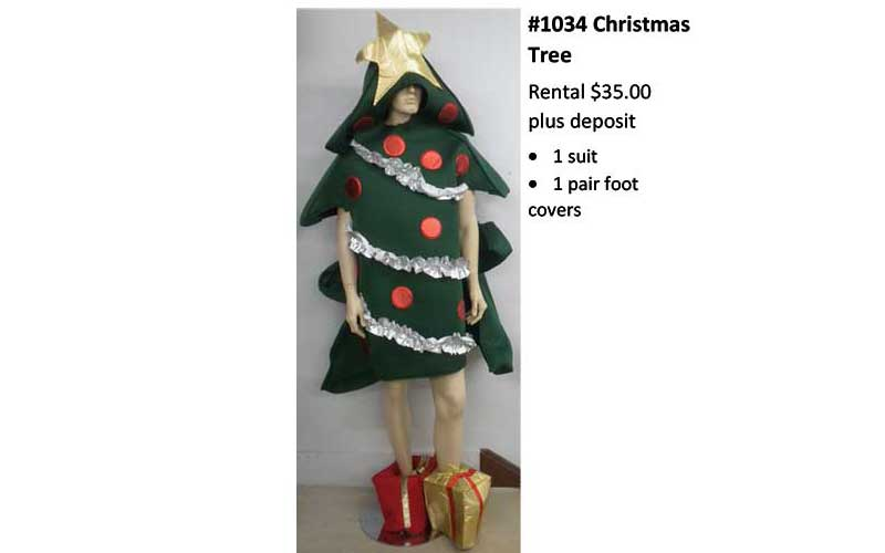 Christmas-Tree Costume