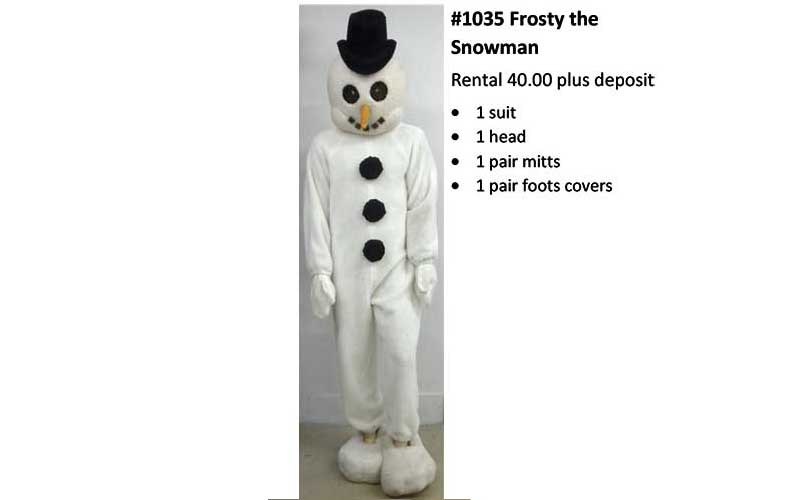 Frosty-The-Snowman Costume
