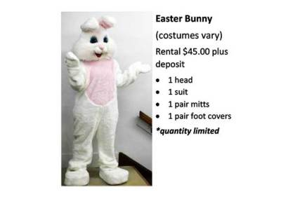 Easter Bunny (costumes vary)