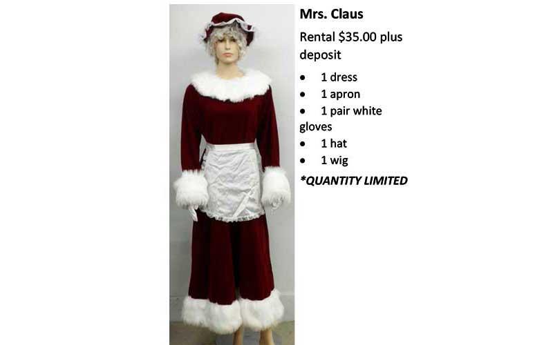 Mrs-Claus costume