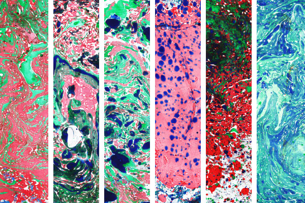 examples of paper marbling