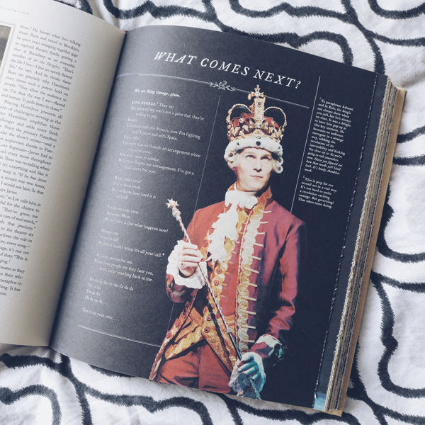 Page about King George and the song What Comes Next.