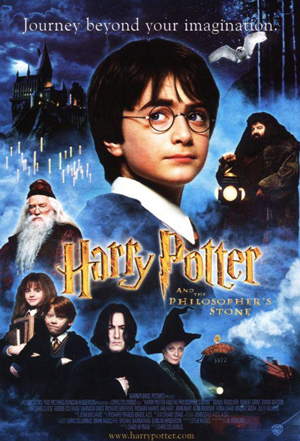 Original version of the Harry Potter poster.
