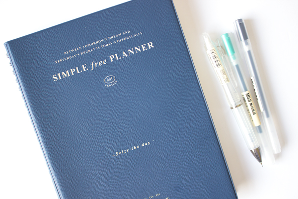 seize the day simple free iconic planner