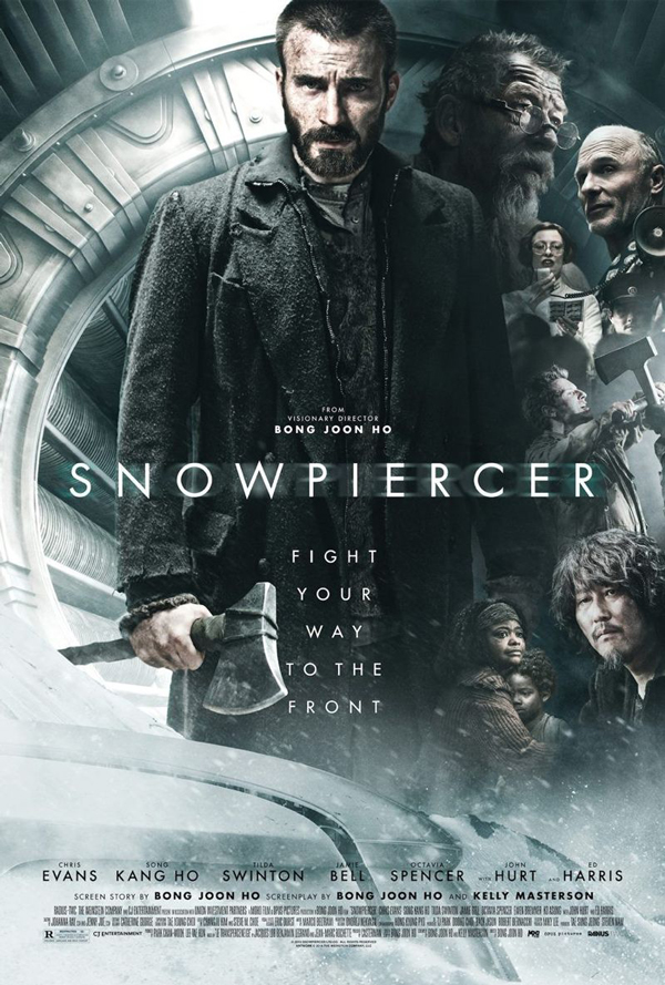 Original Snowpiercer movie poster.