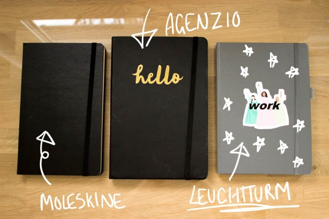 how to choose notebook moleskine agenzio paperchase leuchtturm 1719