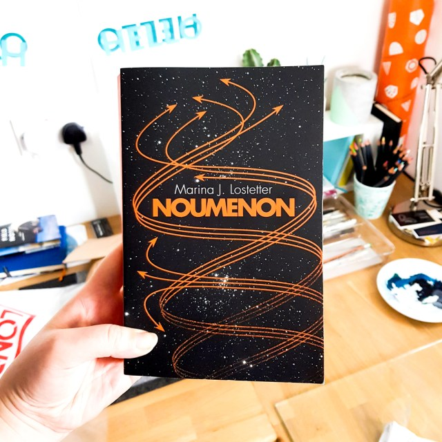 Noumenon by Marina J. Lostetter book cover