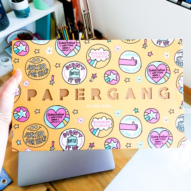 september papergang box featuring gemma correll