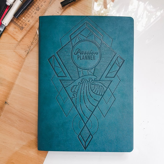 Cover of Passion Planner.