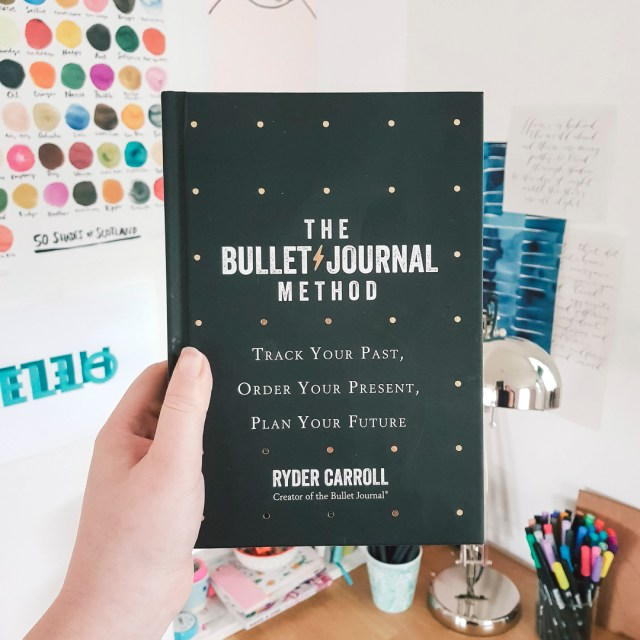 Cover of The Bullet Journal Method by Ryder Carroll.
