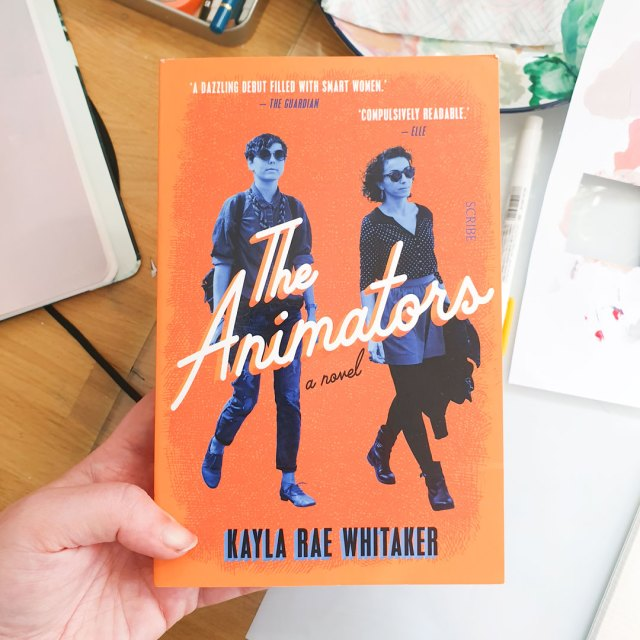 Cover of The Animators by Kayla Rae Whitaker.