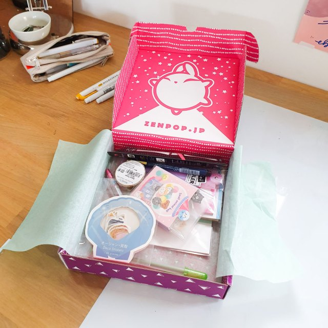 Zenpop Japanese stationery box.