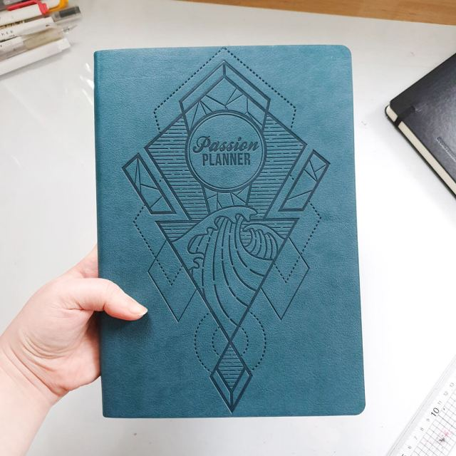 Cover of the planner.