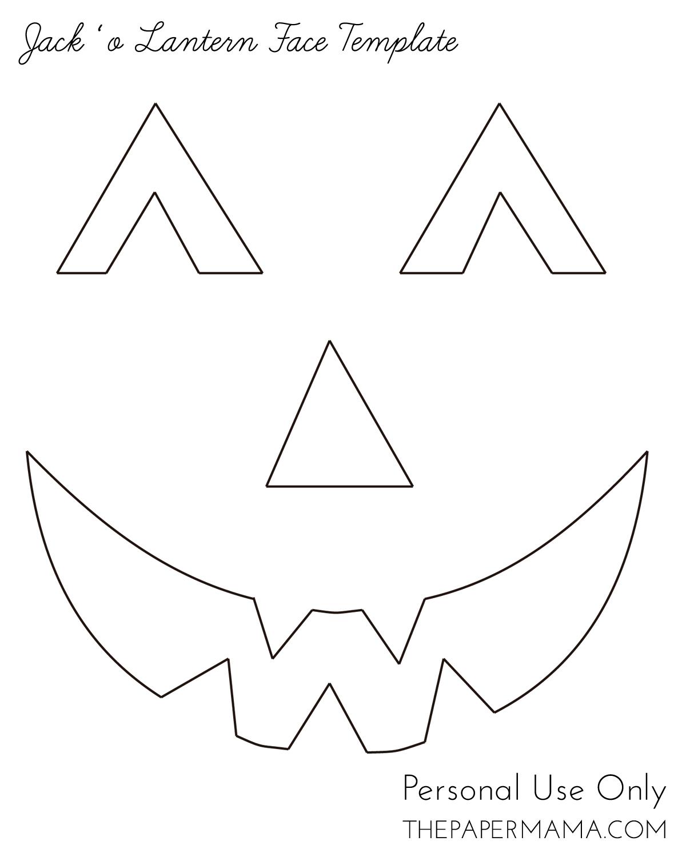 Yarn Jack O Lantern Face