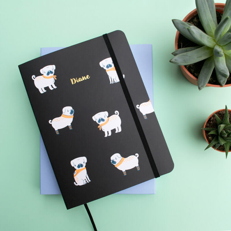 pugs-black-planner-notebook