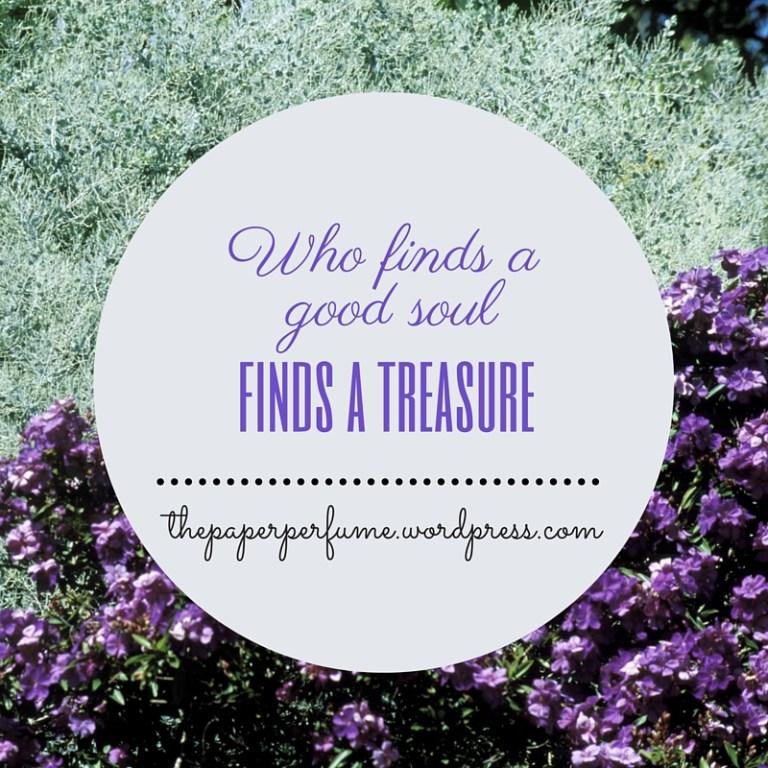 Chi trova un'anima buona, trova un tesoro ENG